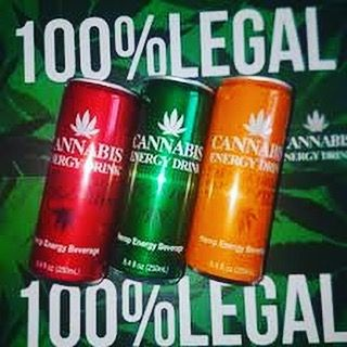 100% legal - Cannabis Energy Drink