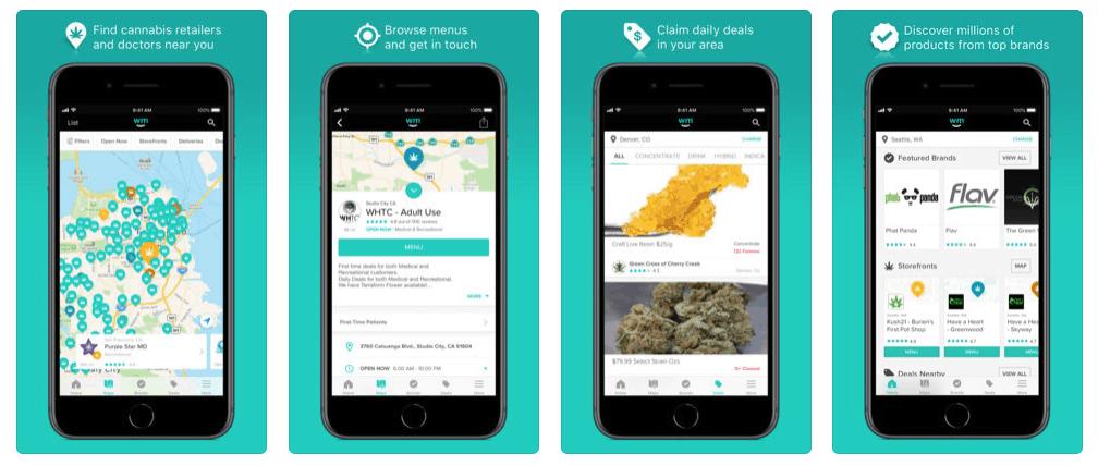 Preuzmite aplikaciju Weedmaps za vaš Android ili iPhone smartphone!