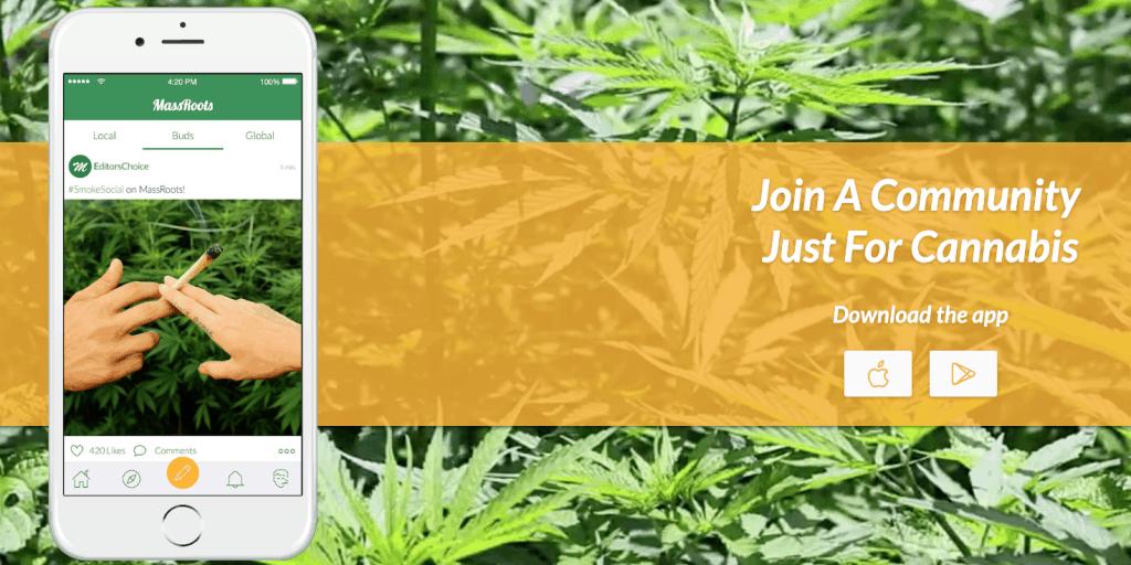 Download de MassRoots app voor jouw Android of iPhone smartphone!