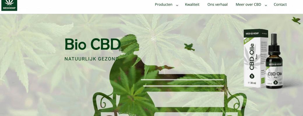 Biologische CBD Producent Medihemp Lanceert Nieuwe Website