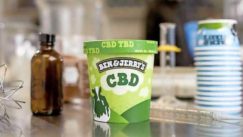 CBD ijs Ben Jerrys