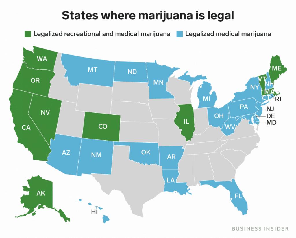 2019 07 16 Even over geld hoeveel is de legalisatie van cannabis waard staten waar cannabis legaal is