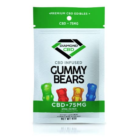 Primjer CBD guma: Diamond CBD Gummy Bears