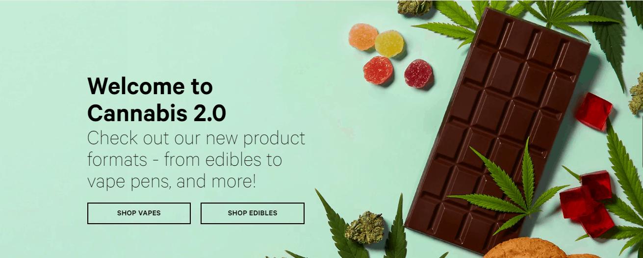 2020-01-18-De Cannabis Store in Ontario verkoopt binnen enkele uren edibles uit