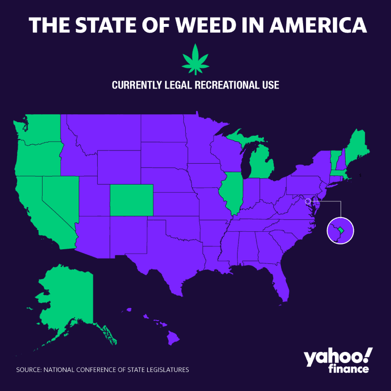 legalisering in Amerika