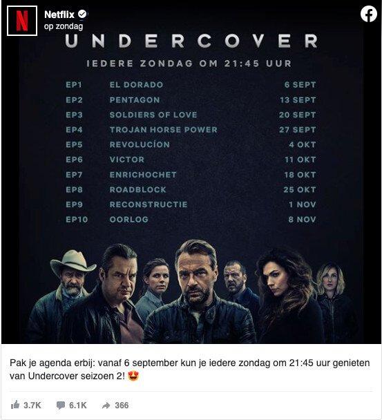Raspored emitiranja 2. sezone popularne Netflixove serije Undercover izaziva razočaranje kod entuzijasta.