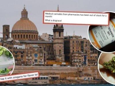 Nawad-an sa paglaum ang mga Maltese Medical Cannabis Users: Opisyal na Karon nga Wala'y Sagbot ang Malta.