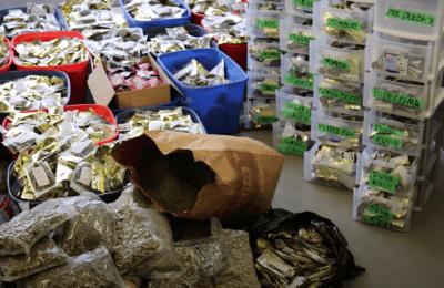 2020-12-04-Canadese Politie Onderschept 2 Miljoen Dollar Aan Cannabisproducten En Cash