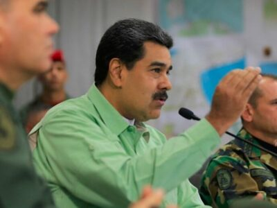 President Maduro Presents Venezuela's Anti-Drug Policy And Says Everything Comes From Colombia.