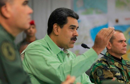 President Maduro Presenteert Anti-drugsbeleid Van Venezuela En Zegt: 100% Komt Uit Colombia.