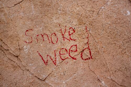 Fumare erba in pubblico, sui marciapiedi o sul marciapiede ora possibile nello Stato di New York (fig.)