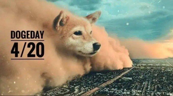 """Ang Mga Crypto Fans Nagtinguha nga Maghimo 4/20 Karon nga """"Doge Day"""" Pinaagi sa Pagdugang sa Bili Sa Dogecoin Coin"""