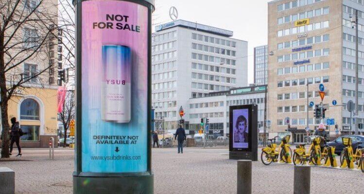 """რატომ ფინეთის სასმელების კომპანია რეკლამირებს თავის CBD სასმელზე, როგორც """"არ იყიდება"""""""