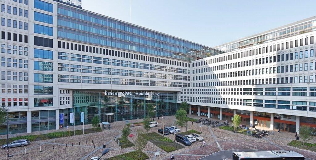 Az Embrace Life élő közvetítést a hollandiai rotterdami Erasmus MC kórházból sugározzák (ábra)