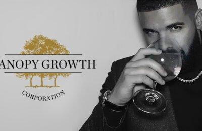 Raplegende Drake En Cannabisbedrijf Canopy Growth Stoppen More Life Growth Co.