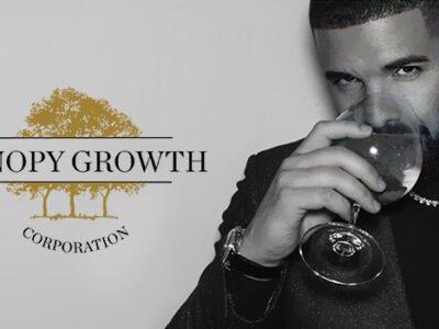 A Rap Legend Drake és a Cannabis Company lombkorona növekedése megszünteti az életnövekedést.