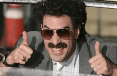 2021-07-15-Borat Klaagt Amerikaans Cannabisbedrijf Aan Vanwege Reclamebord