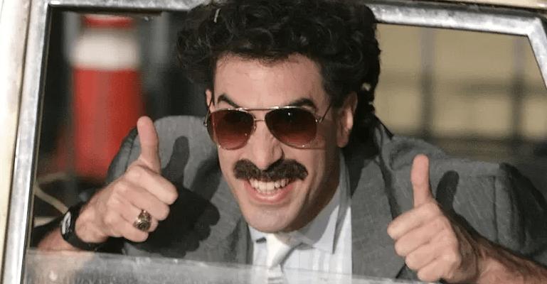 Borat Klaagt Amerikaans Cannabisbedrijf Aan