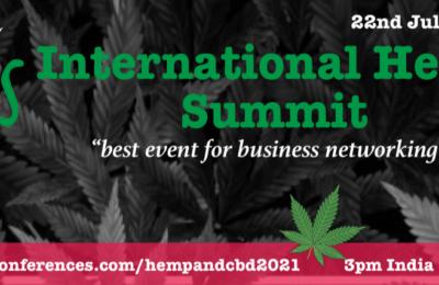 2021-07-22-CBD Van Denver Presenteert Op De International Hemp Summit (IHS)